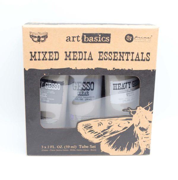 Prima Marketing - Art Basics mixed media essentials | Unsere kleine Bastelstube - DIY Bastelideen für Feste & Anlässe