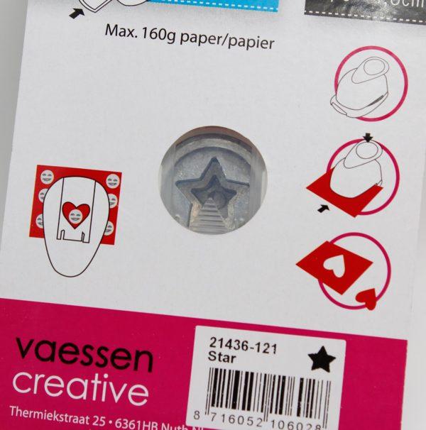 Handstanze Stern klein Vaessen Creative | Unsere kleine Bastelstube - DIY Bastelideen für Feste & Anlässe