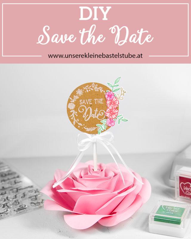 DIY - Save the Date | Unsere kleine Bastelstube - DIY Bastelideen für Feste & Anlässe