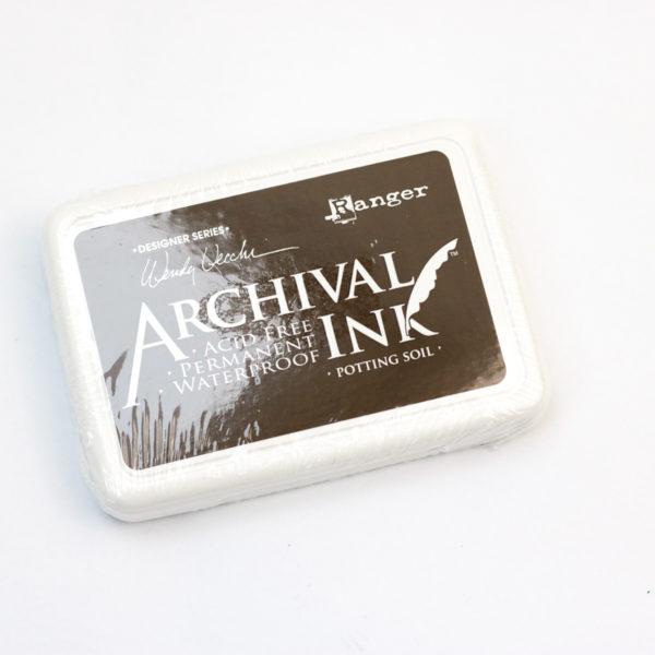 Rangers - Archival Ink Stempelkissen Potting soil | Unsere kleine Bastelstube - DIY Bastelideen für Feste & Anlässe