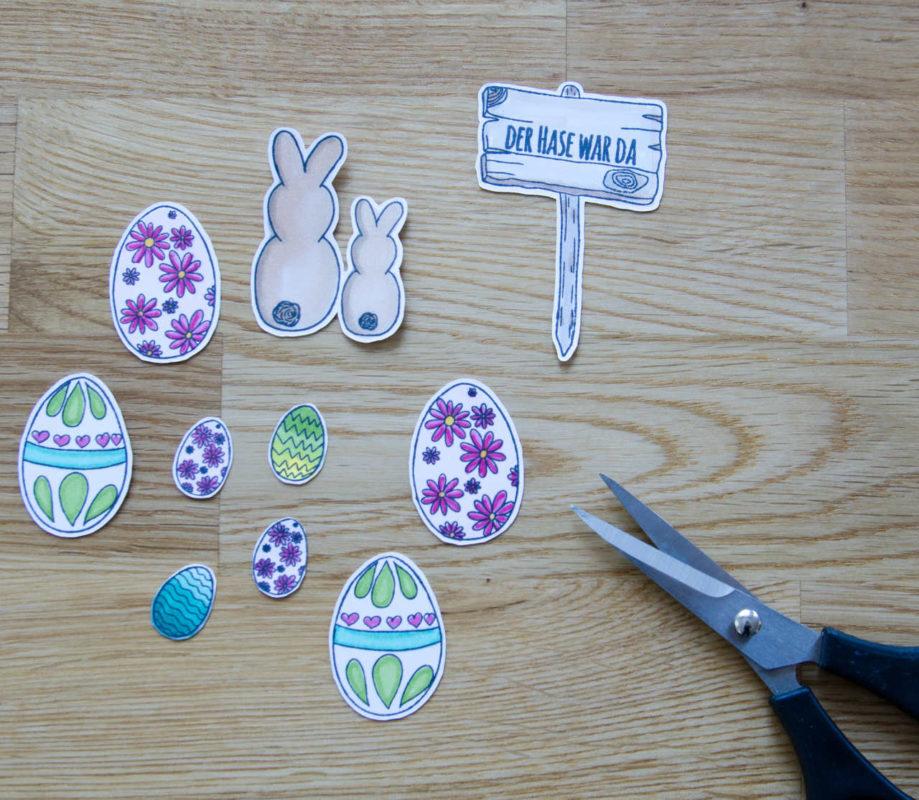 Ostermitbringsl im Glaserl | Unsere kleine Bastelstube - DIY Bastelideen für Feste & Anlässe