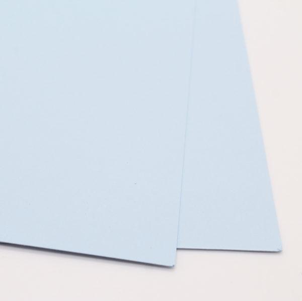 Uni Papier A4 glatt hellblau - Faltkarten | Unsere kleine Bastelstube - DIY Bastelideen für Feste & Anlässe