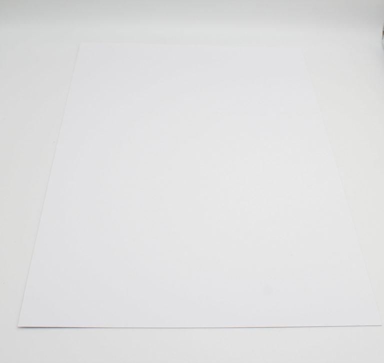 Uni Papier A4 glatt Puderweiß - Faltkarten | Unsere kleine Bastelstube - DIY Bastelideen für Feste & Anlässe
