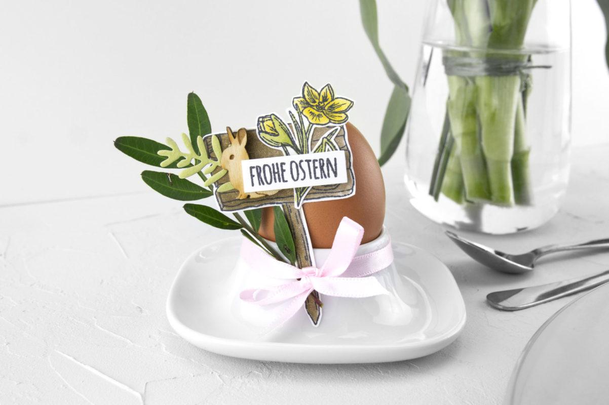 Tischdeko für Ostern selber machen | Unsere kleine Bastelstube - DIY Bastelideen für Feste & Anlässe