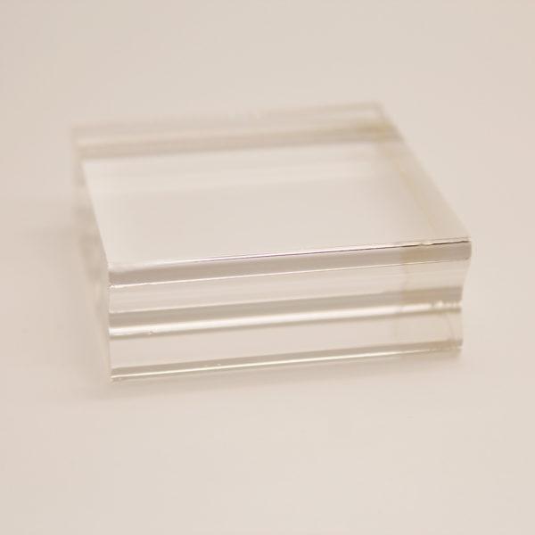 Acrylblock (Stempelblock klein 50x50mm) | Unsere kleine Bastelstube - DIY Bastelideen für Feste & Anlässe