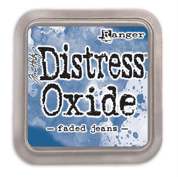 Distress oxide faded jeans - Tim Holtz Ranger | Unsere kleine Bastelstube - DIY Bastelideen für Feste & Anlässe