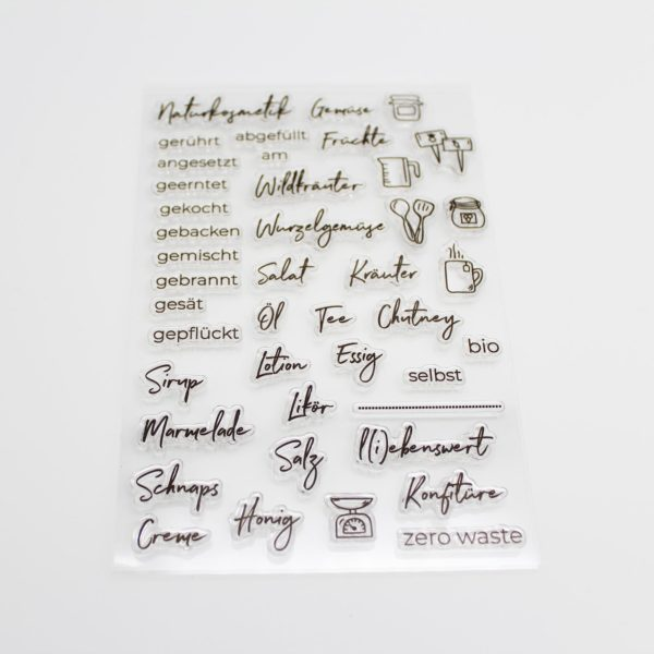 Stempelset Selbstgemacht - Stempelstube | Unsere kleine Bastelstube - DIY Bastelideen für Feste & Anlässe