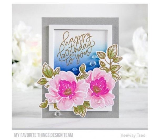 My Favorite Things Painted Petals Die- Namics Stanzformen | Unsere kleine Bastelstube - DIY Bastelideen für Feste & Anlässe