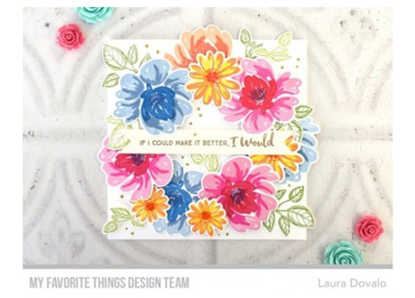My Favorite Things Painted Petals Clear Stamps | Unsere kleine Bastelstube - DIY Bastelideen für Feste & Anlässe