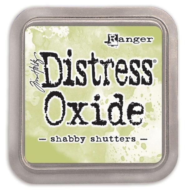 Distress oxide shabby shutters - Tim Holtz Ranger | Unsere kleine Bastelstube - DIY Bastelideen für Feste & Anlässe