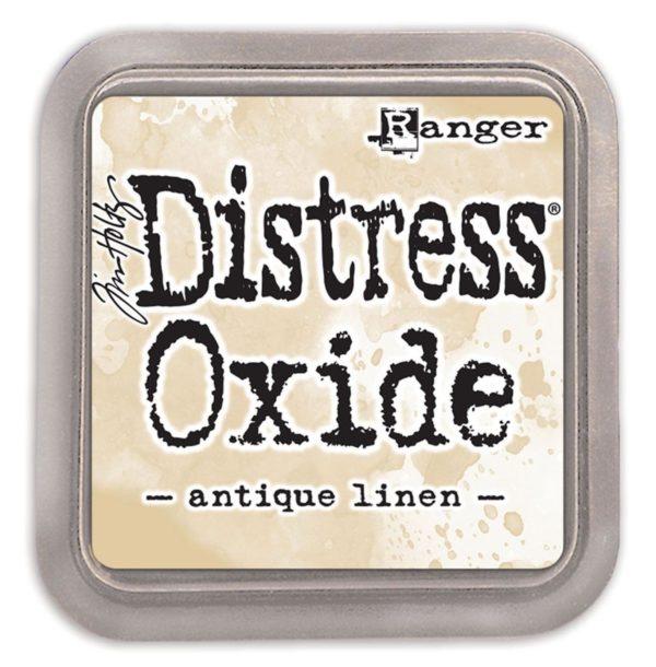 Ranger Tim Holtz Distress oxide antique linen   Unsere kleine Bastelstube - DIY Bastelideen für Feste & Anlässe