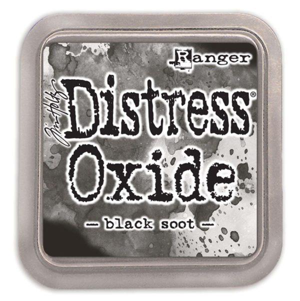 Ranger Tim Holtz Distress oxide black soot | Unsere kleine Bastelstube - DIY Bastelideen für Feste & Anlässe