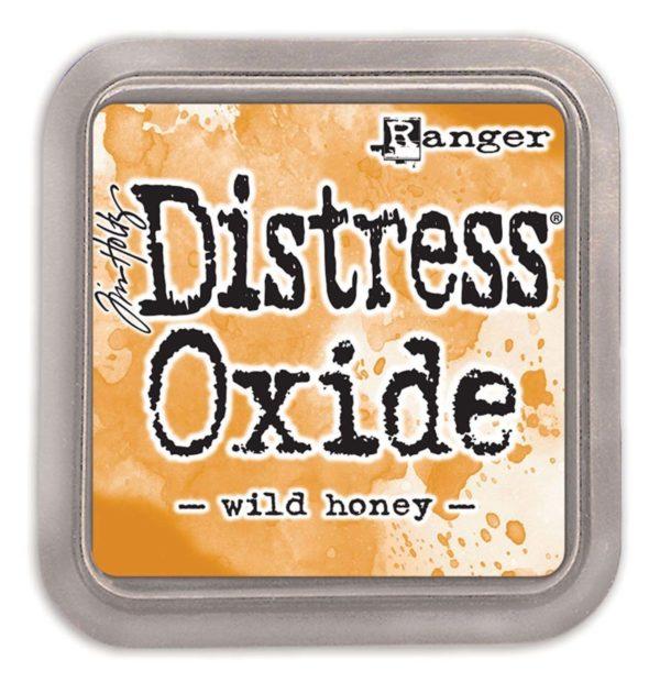 Ranger Tim Holtz Distress oxide wild honey | Unsere kleine Bastelstube - DIY Bastelideen für Feste & Anlässe