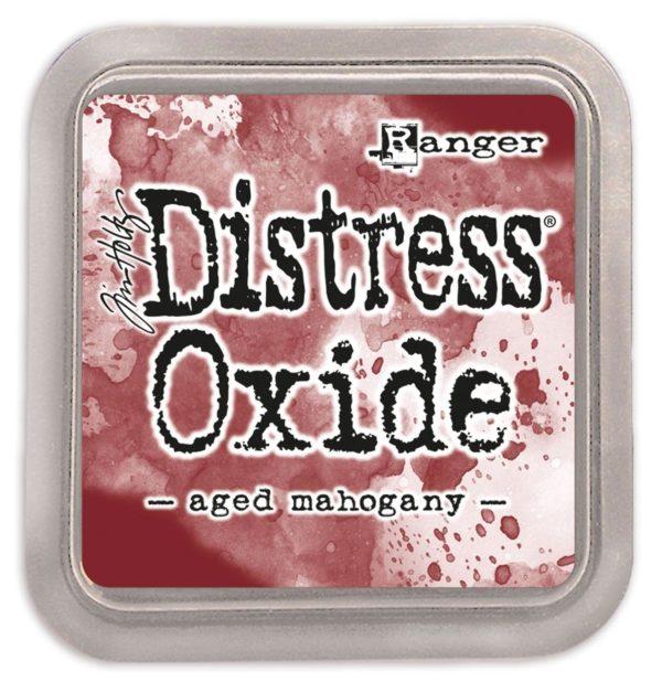 Distress oxide aged mahogany - Tim Holtz Ranger | Unsere kleine Bastelstube - DIY Bastelideen für Feste & Anlässe