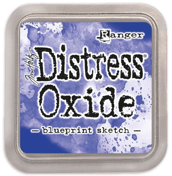 Distress oxide blueprint sketch - Tim Holtz Ranger | Unsere kleine Bastelstube - DIY Bastelideen für Feste & Anlässe