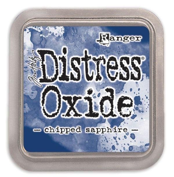 Distress oxide chipped sapphire - Tim Holtz Ranger | Unsere kleine Bastelstube - DIY Bastelideen für Feste & Anlässe