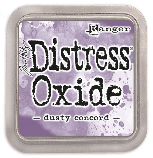 Distress oxide dusty concord - Tim Holtz Ranger | Unsere kleine Bastelstube - DIY Bastelideen für Feste & Anlässe