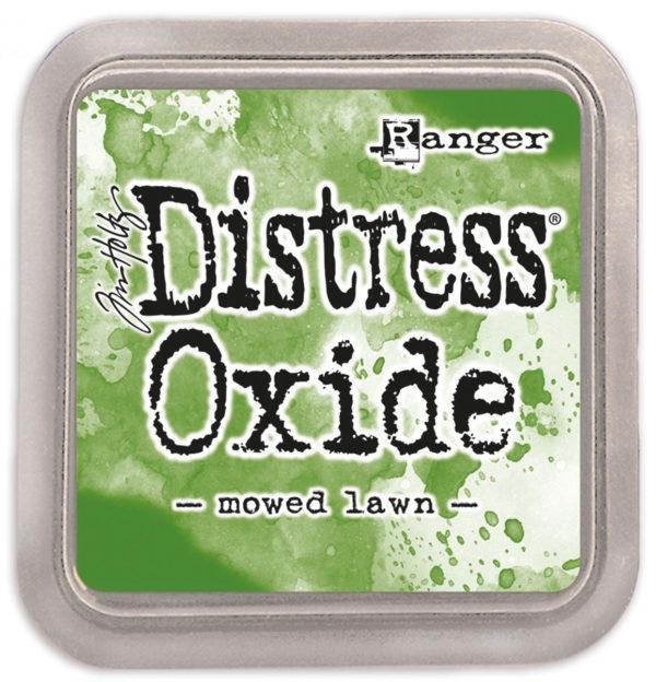 Distress oxide mowed lawn - Tim Holtz Ranger | Unsere kleine Bastelstube - DIY Bastelideen für Feste & Anlässe