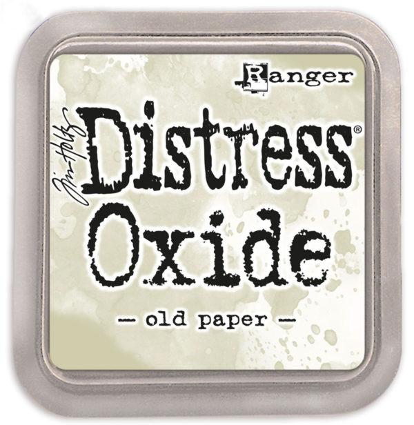 Distress oxide old paper - Tim Holtz Ranger | Unsere kleine Bastelstube - DIY Bastelideen für Feste & Anlässe