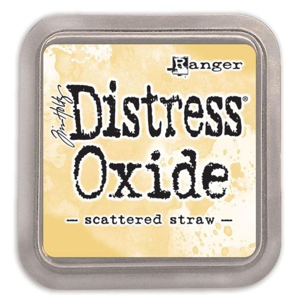 Distress oxide scattered straw - Tim Holtz Ranger | Unsere kleine Bastelstube - DIY Bastelideen für Feste & Anlässe