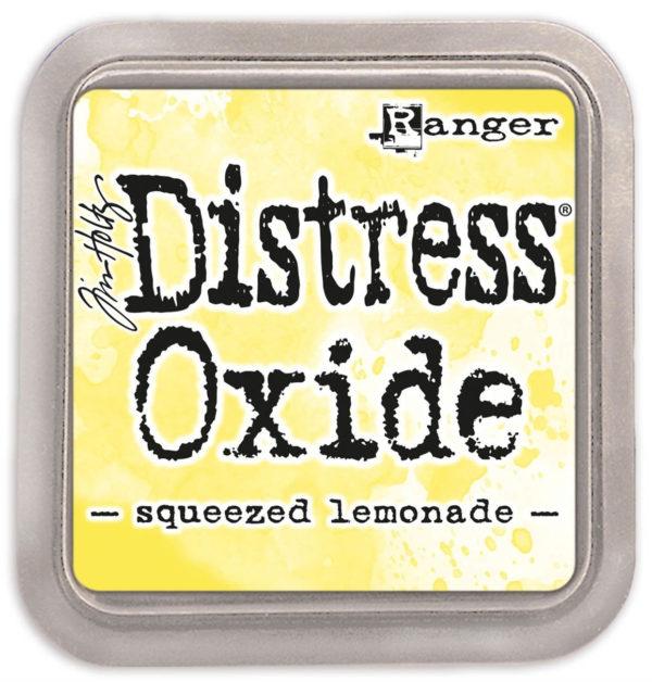 Distress oxide squeezed lemonade - Tim Holtz Ranger | Unsere kleine Bastelstube - DIY Bastelideen für Feste & Anlässe