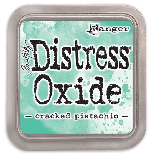 Ranger Tim Holtz Distress oxide cracked pistachio | Unsere kleine Bastelstube - DIY Bastelideen für Feste & Anlässe