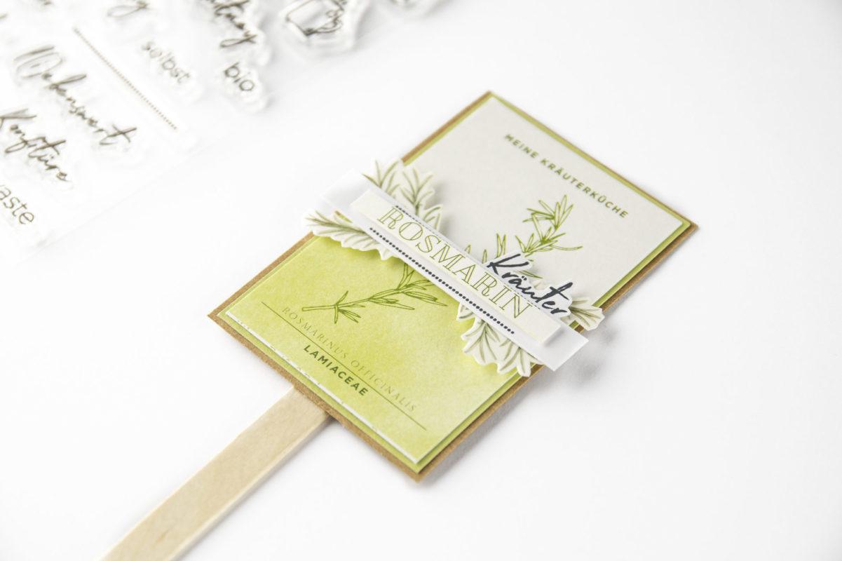 Kräutertafeln   Unsere kleine Bastelstube - DIY Bastelideen für Feste & Anlässe