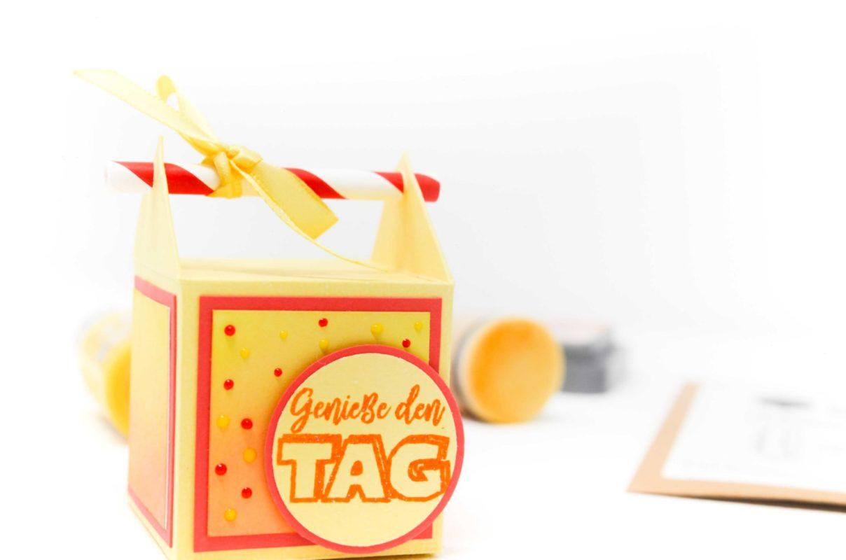 Strohhalm Schachterl | Unsere kleine Bastelstube - DIY Bastelideen für Feste & Anlässe
