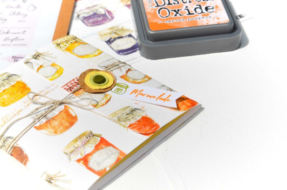 Rezeptheftchen | Unsere kleine Bastelstube - DIY Bastelideen für Feste & Anlässe