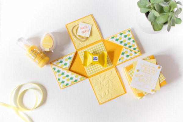 Geschenk zur Firmung selber machen - Erinnerungsrahmen | Unsere kleine Bastelstube - DIY Bastelideen für Feste & Anlässe