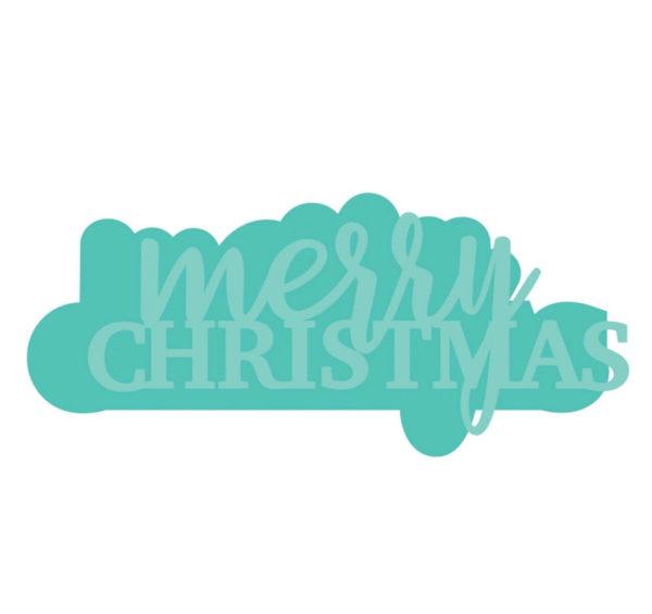 Kaisercraft - Stanzform Merry Christmas | Unsere kleine Bastelstube - DIY Bastelideen für Feste & Anlässe