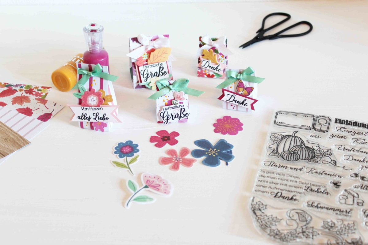 Was kleines Herbstliches zum verschenken!! | Unsere kleine Bastelstube - DIY Bastelideen für Feste & Anlässe