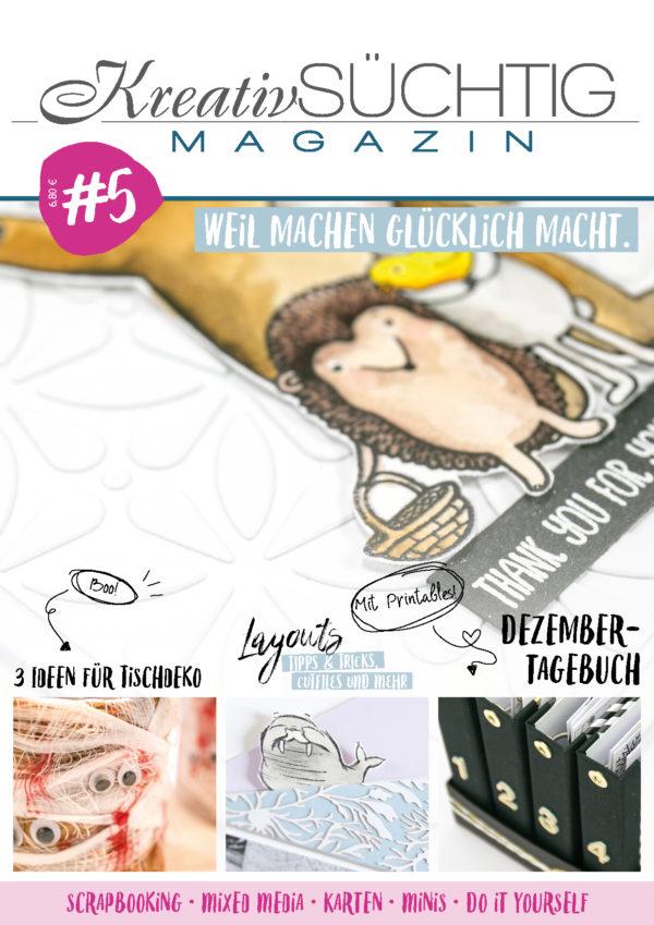 Kreativsüchtig Magazin #5 | Unsere kleine Bastelstube - DIY Bastelideen für Feste & Anlässe