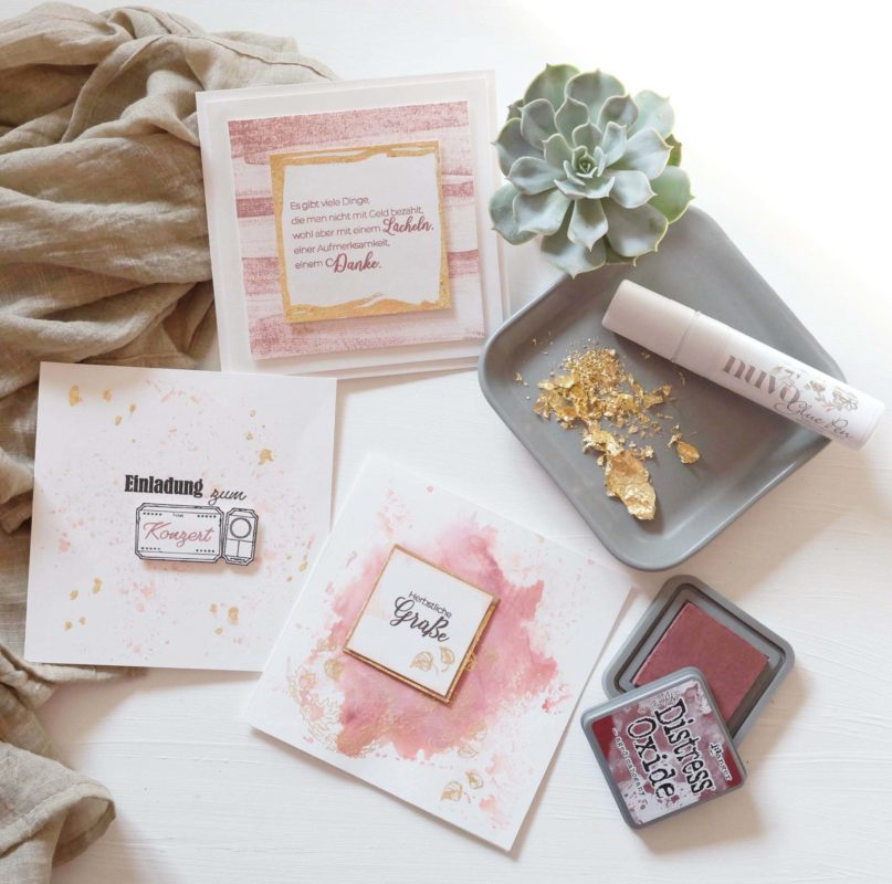 Viele Karten mit nur einem Stempelset. | Unsere kleine Bastelstube - DIY Bastelideen für Feste & Anlässe