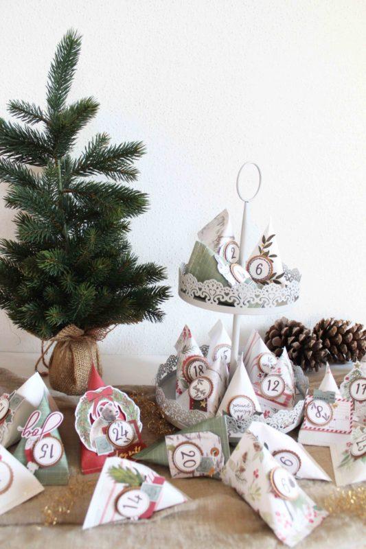 DIY - Adventskalender ganz leicht selber machen! | Unsere kleine Bastelstube - DIY Bastelideen für Feste & Anlässe