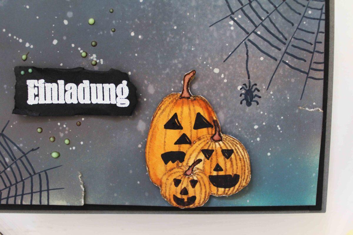 DIY Einladung, für Halloween !   Unsere kleine Bastelstube - DIY Bastelideen für Feste & Anlässe