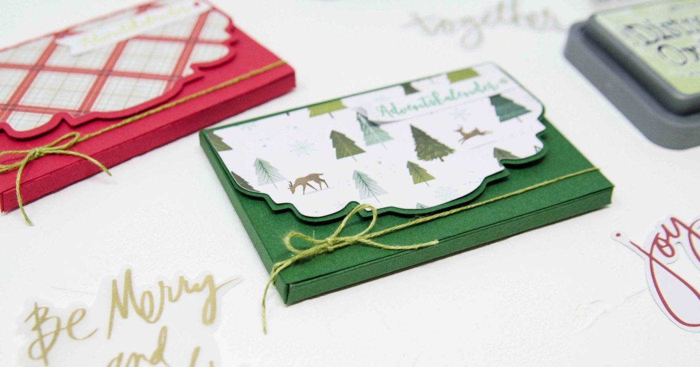 DIY - Adventskalender für unterwegs. | Unsere kleine Bastelstube - DIY Bastelideen für Feste & Anlässe