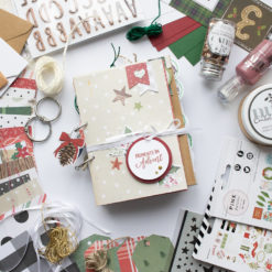 material kit advent weihnachten demcember daily mini album