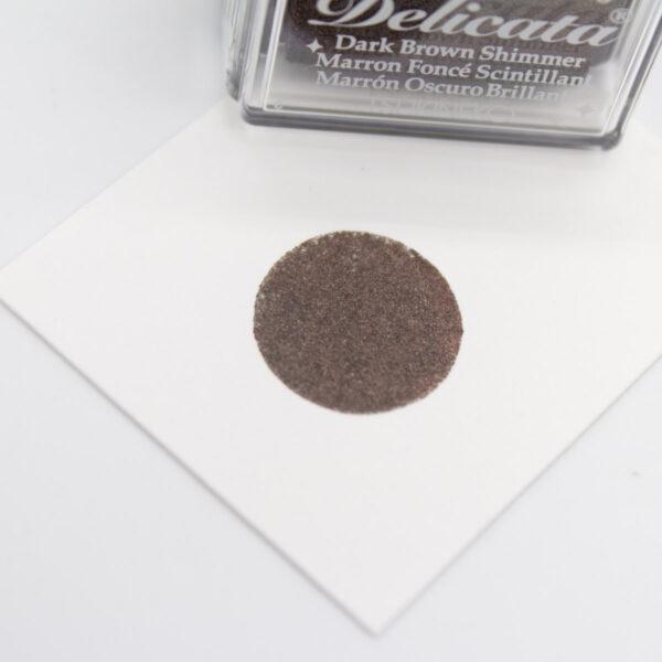 Delicata Stempelkissen Dark Brown Shimmer