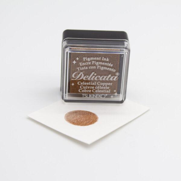 Stempelkissen Delicata Copper