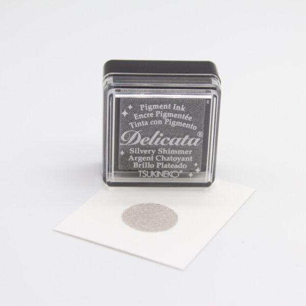 Stempelkissen Silvery von Delicata