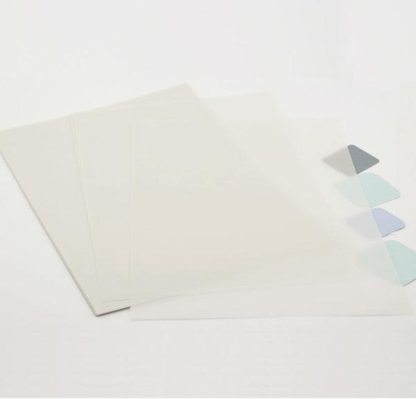 Pergamentpapier A4 Transparent 5 Blatt | Unsere kleine Bastelstube - DIY Bastelideen für Feste & Anlässe