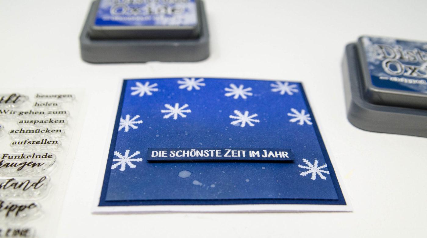 Fenster #3 Kunterbunte Weihnachtskarten | Unsere kleine Bastelstube - DIY Bastelideen für Feste & Anlässe