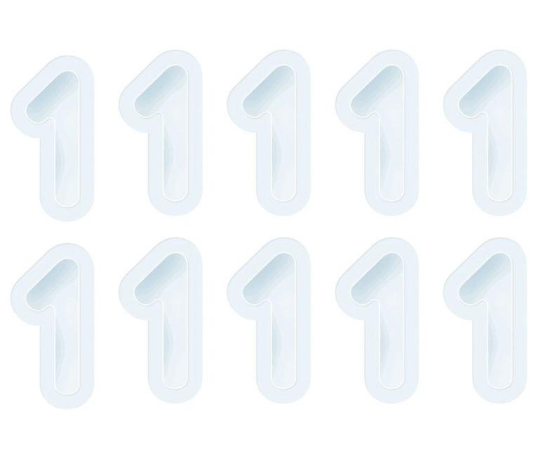 Tonic Studios Nummer 1 Schüttelkarten Nachfüllset  – Transparent | Unsere kleine Bastelstube - DIY Bastelideen für Feste & Anlässe