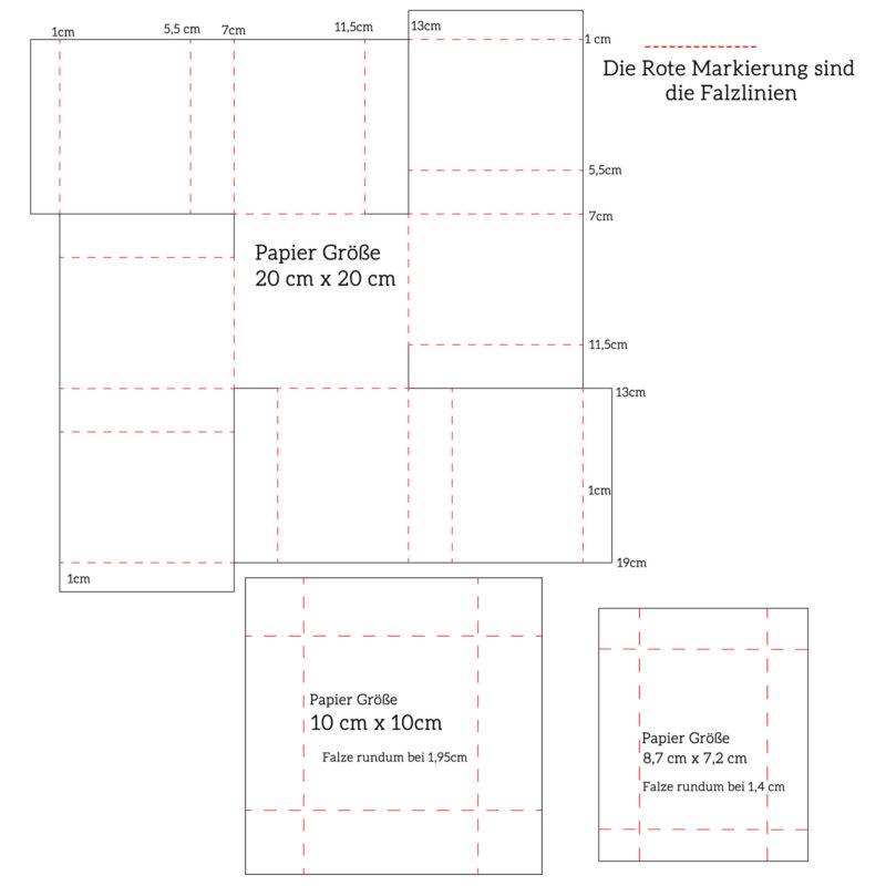 Fenster #14 Explosionsbox mit Schubladen | Unsere kleine Bastelstube - DIY Bastelideen für Feste & Anlässe