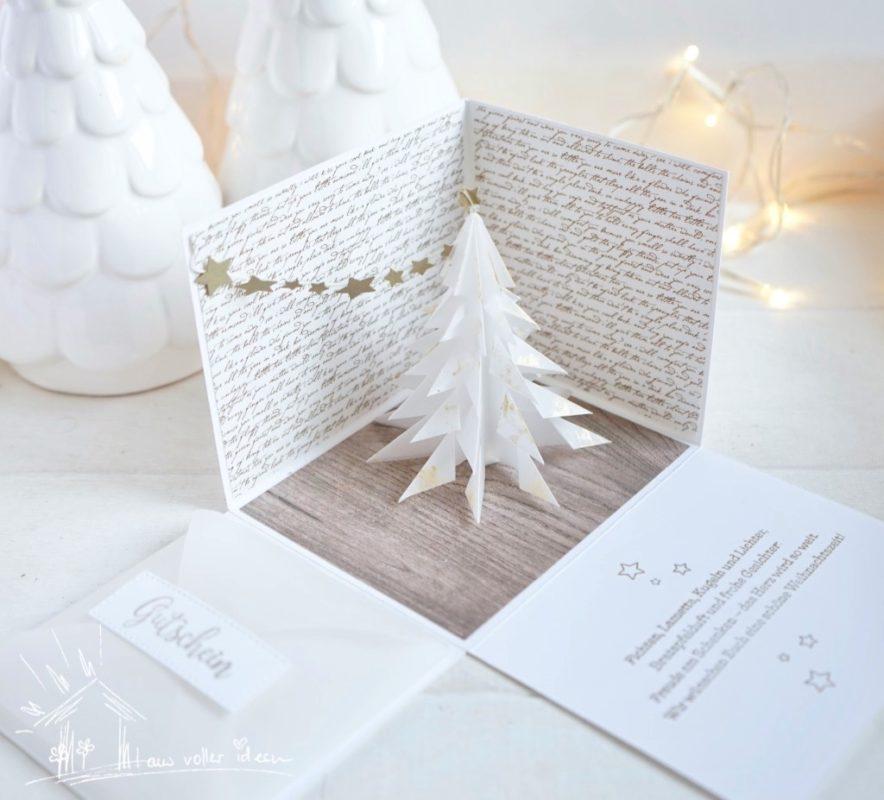 Fenster #12 Basteln, Selber machen & Stempeln für Weihnachten | Unsere kleine Bastelstube - DIY Bastelideen für Feste & Anlässe