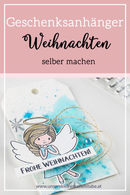 Fenster #10 Geschenkanhänger Weihnachten | Unsere kleine Bastelstube - DIY Bastelideen für Feste & Anlässe