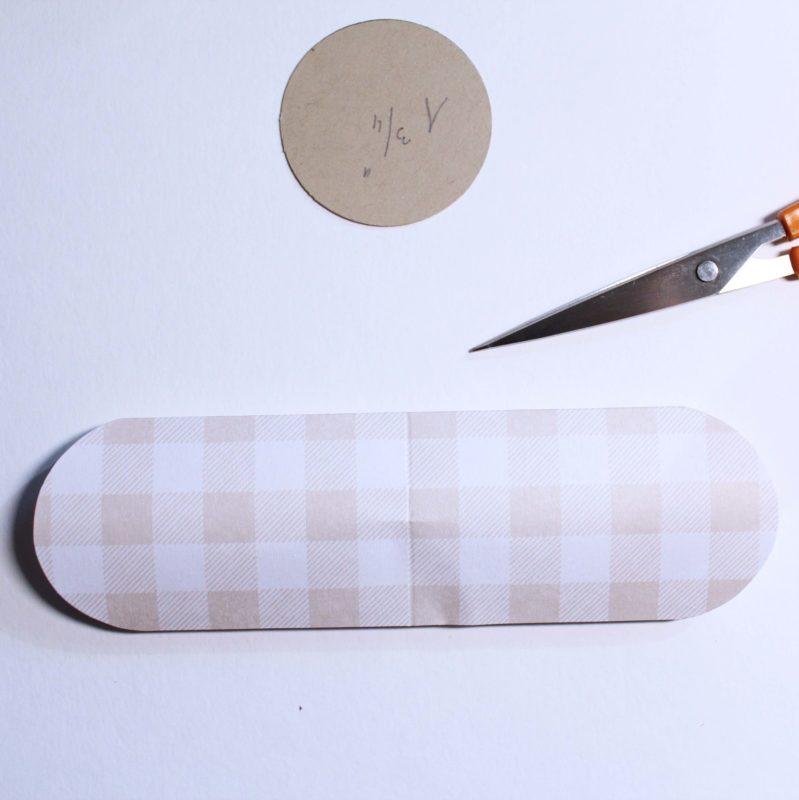Fenster #4 Herz Verpackung für deine Gäste | Unsere kleine Bastelstube - DIY Bastelideen für Feste & Anlässe