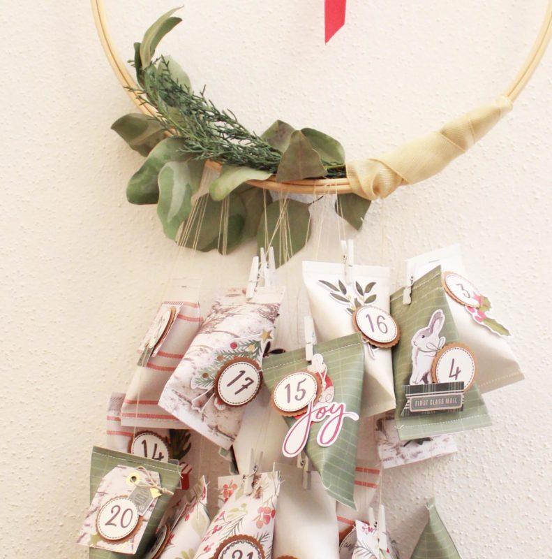 Fenster #1 Adventskalender selber machen | Unsere kleine Bastelstube - DIY Bastelideen für Feste & Anlässe