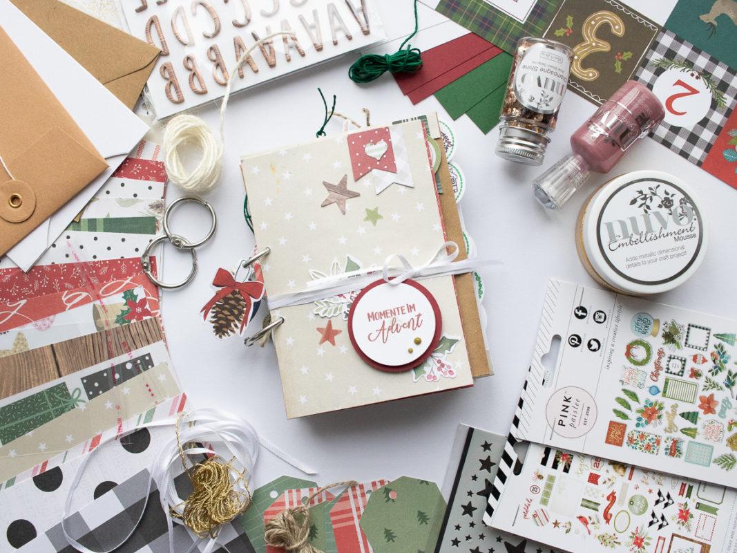 Fenster #21 Momente im Advent - Album | Unsere kleine Bastelstube - DIY Bastelideen für Feste & Anlässe